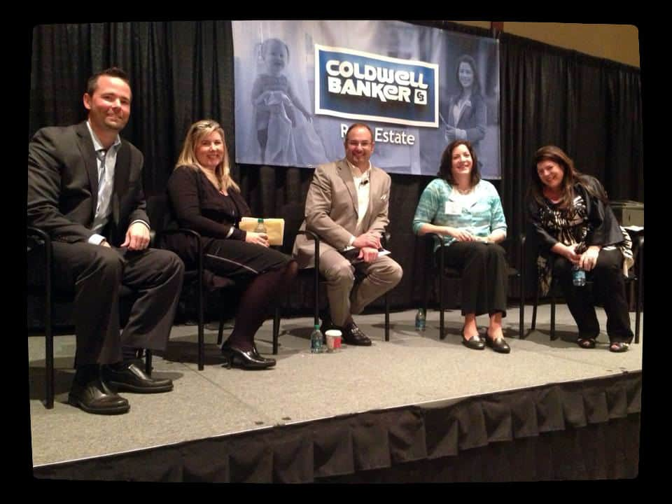 Pictured from left to right: Sam DeBord of Coldwell Banker Danforth, Jen Harper of Coldwell Banker Bain, Matthew Ferrara of Matthew Ferrara & Co., Francine Viola of Coldwell Banker Evergreen Olympic Realty, and Kim Colaprete of Coldwell Banker Bain.