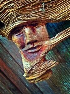Wood face BeFunky-fied