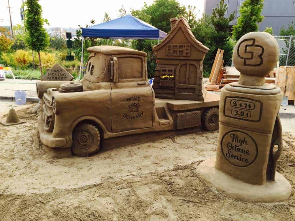 2015 Sand in the City Olympia WA People's Choice winner