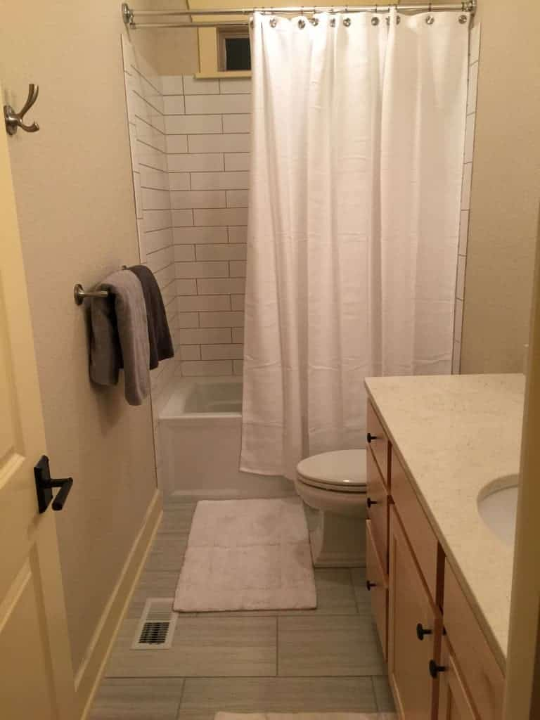 journey of a bathroom remodel in olympia wa